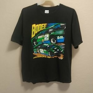 Jason Bodenhamer Racing Tee Sz XL Crew Neck SH SL